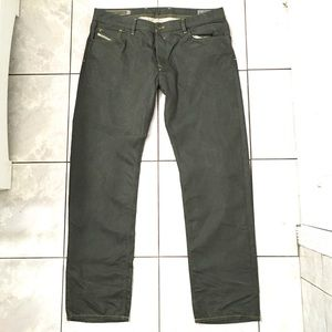 Diesel Waykee Men's Olive Straight Jeans